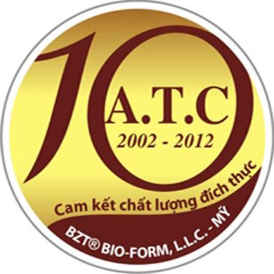 logo ATC 10 nam 2